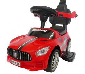 R-Sport Odrážadlo s vodiacou tyčou J7 Red