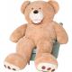 Aga4Kids Plyšový medvěd 250 cm Amigo Beige