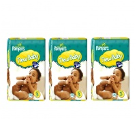 Pampers NEW BABY 3 MIDI (4-7kg) 3-Pack 114ks