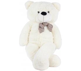 Aga4Kids Plyšový medvěd 130 cm Bílý