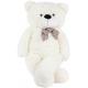 Aga4Kids Plyšový medveď 130 cm Biely