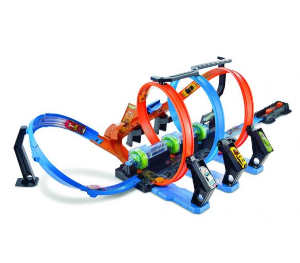 Hot Wheels spirálová jízda