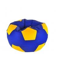 Aga Sedací vak BALL Farba: Žltá - Modrá
