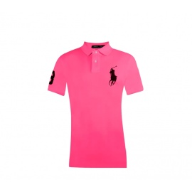 Ralph Lauren CUSTOM-FIT Carmel Pink Big Pony Navy