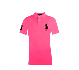 Ralph Lauren CUSTOM-FIT Carmel Pink Big Pony Navy