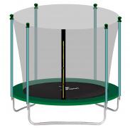Aga SPORT FIT Trampolína 250 cm Dark Green + vnitřní ochranná síť