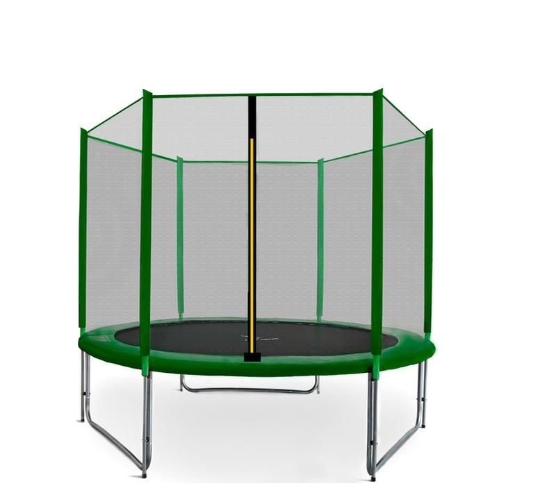 Aga SPORT PRO Trampolína 220 cm Dark Green + ochranná síť