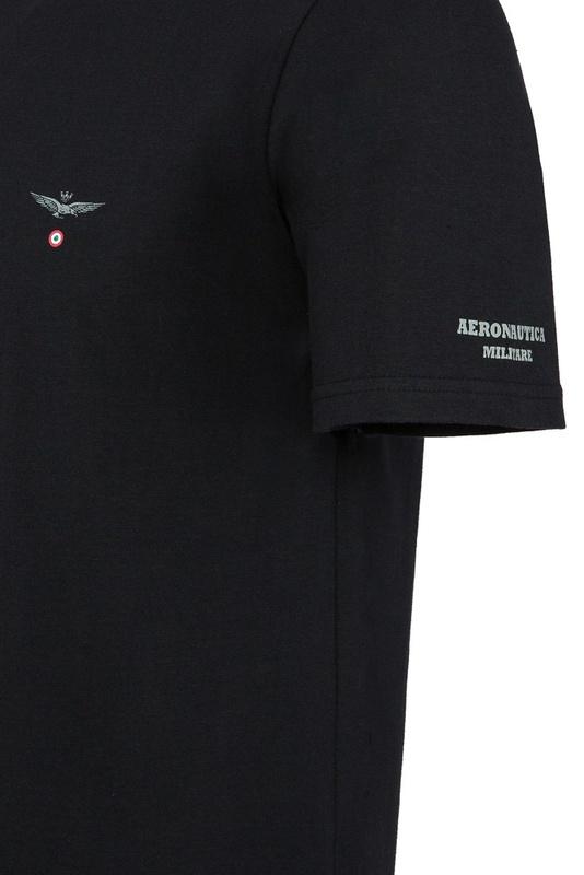 e363c7fde32 Aeronautica Militare Tričko V-NECK 3-Pack X1397 Black - Svět trampolín