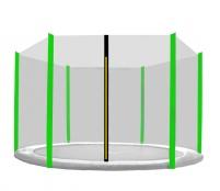 Aga Ochranná sieť 180 cm na 6 tyčí Black net / Light Green