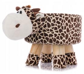 Aga4Kids Dětský taburet Žirafa