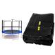 Spartan Siatka do trampoliny 305cm 10ft zewnętrzna na 6 słupków Black net / black