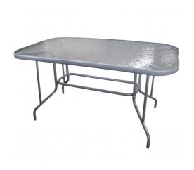 Linder Exclusiv Szklany stół ogrodowy MILANO MC33083 110x70 cm
