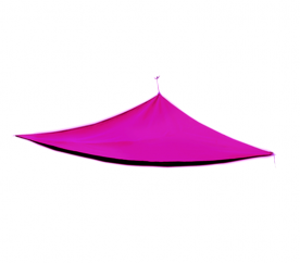 Linder Exclusiv napvitorla MC2018 3,6x3,6x3,6 m Pink