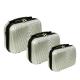 RGL Cestovní kufry HC663 Small XXL,XL,L Barva: Silver