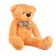 Aga4Kids Plyšový medveď 130 cm Svetlo hnedý