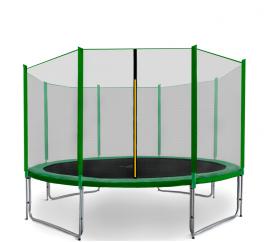 Aga SPORT PRO Trampolína 366 cm Dark Green + ochranná síť