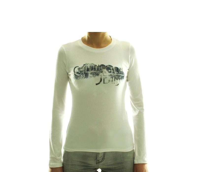 CALVIN KLEIN Dámske tričko cwp92b Blanc