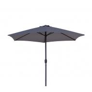 AGA CLASSIC 400 cm Dark Grey napernyő