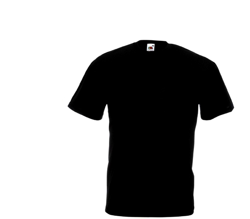 Fruit Of The Loom Tričko VALUEWEIGHT T Black