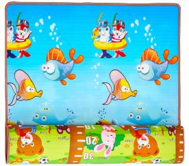 Aga4Kids Dětská pěnová hrací podložka 150x180 cm MR107