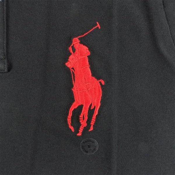 1e716315c5 Ralph Lauren Dětské Polo tričko Black Big Pony Red - Svět trampolín