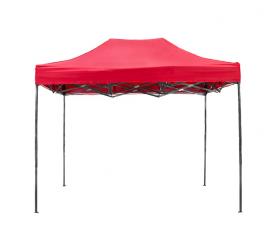Aga pót tető POP UP 3x6 m Red