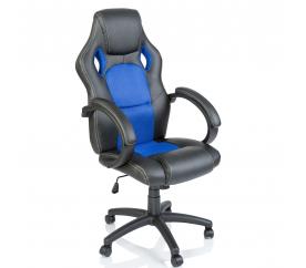 Kancelářské křeslo Racing Black - Blue