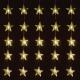 Linder Exclusiv Světelný závěs Hvězdy 40 LED Teplá bílá
