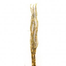 Linder Exclusiv Vánoční větvičky s 80 LED Gold Teplá bílá