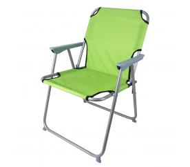 Linder Exclusiv Krzesło ogrodowe turystyczne OXFORD PO2600LG Lime Green