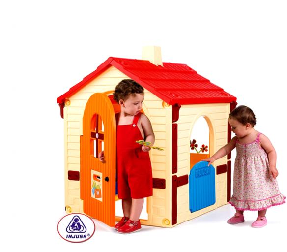 Injusa Hrací domeček COUNTRY HOUSE BASIC