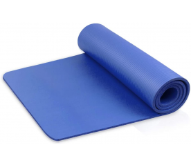 Linder Exclusiv podložka na cvičenie YOGA Blue 180x80x1 cm