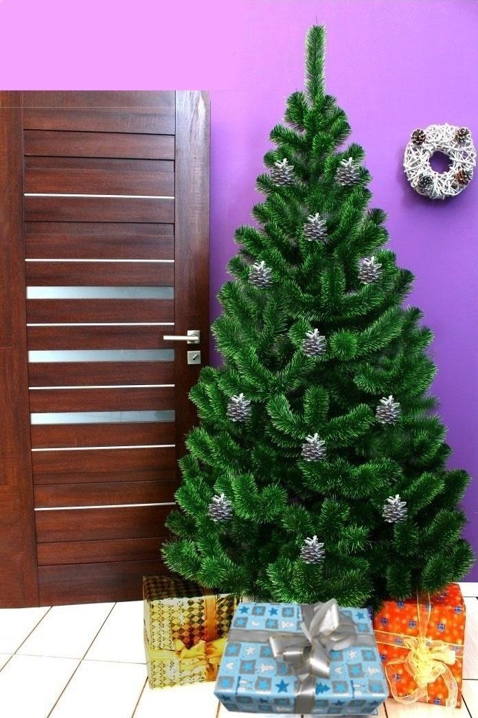 Umělý vánoční stromek - Jedle světlozelená 120 cm