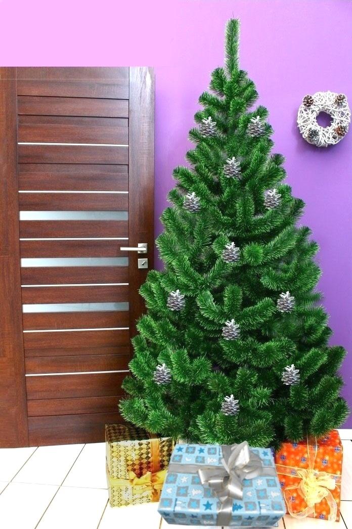 Umělý vánoční stromek - Jedle světlezelená 200 cm