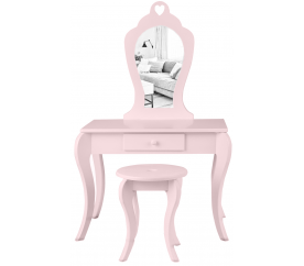 Aga4Kids Detský kozmetický stolík MRDTC02P