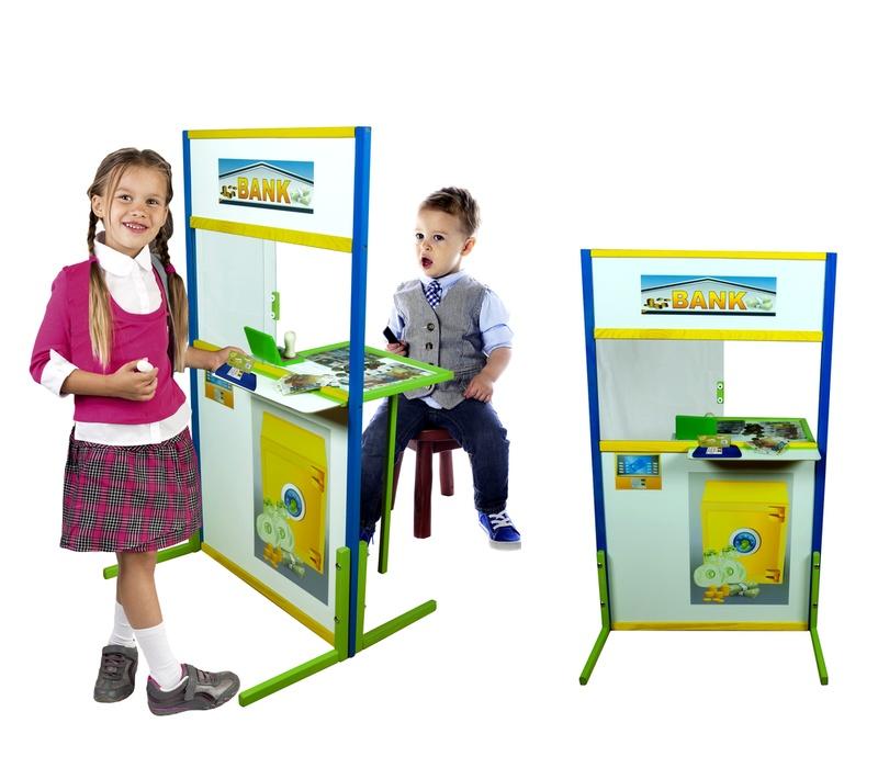 Aga4Kids Detská tabuľa BANKA B1