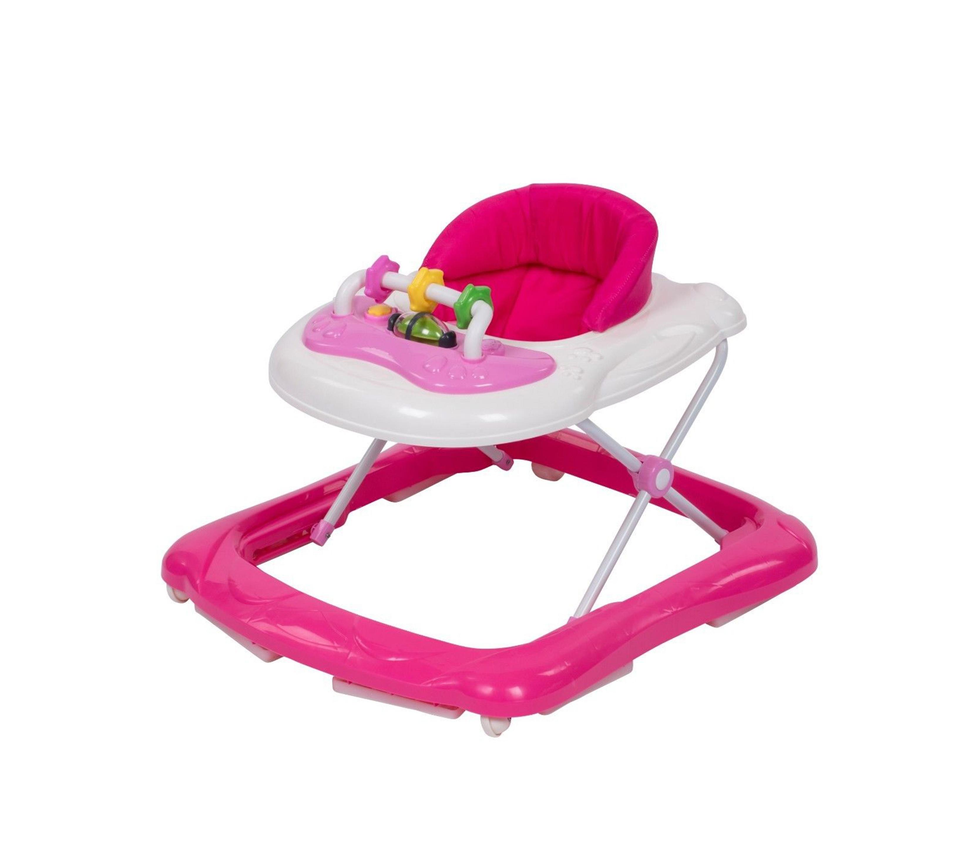 Clamaro Chodítko BABYWALKER Pink ML-0010