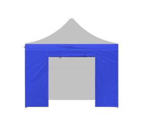 AGA oldalfal ajtóval  2x2 m Blue
