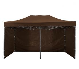 Aga Predajný stánok 3S POP UP 3x6 m Brown