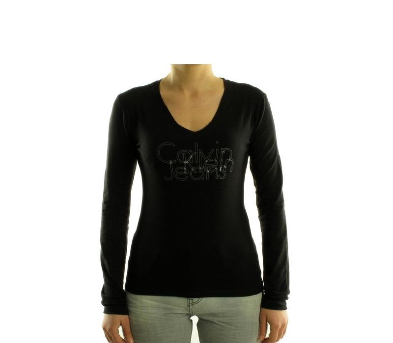 CALVIN KLEIN Dámské tričko cwp45j Noir