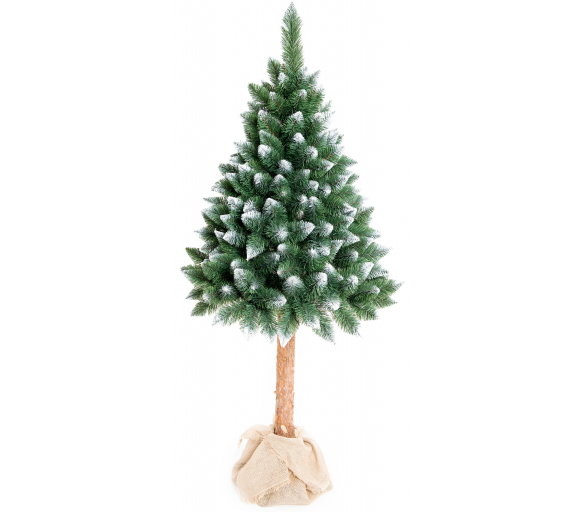 Aga Vánoční stromeček 180 cm s kmenem