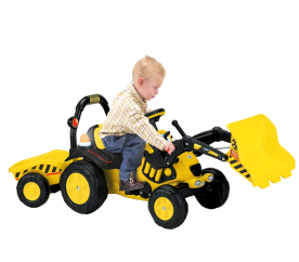 Injusa Traktorek na pedały TRACTOR EXCAVATOR