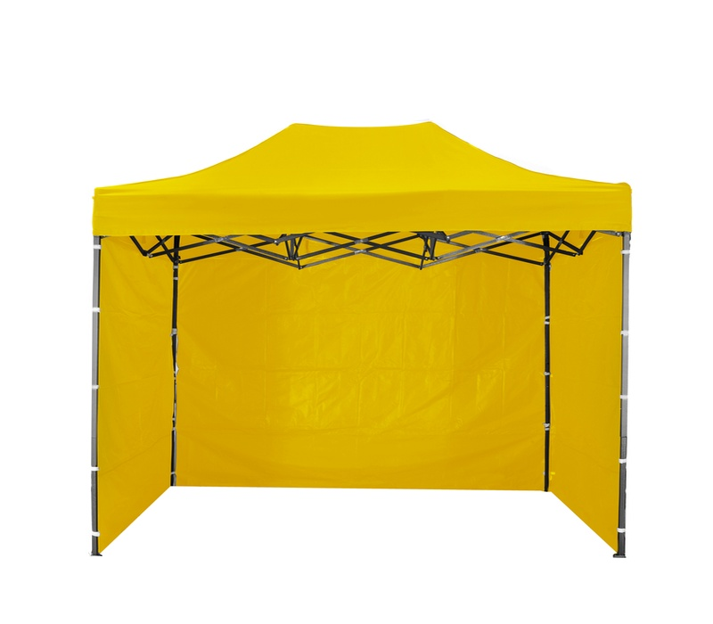 Aga Predajný stánok 3S POP UP 2x3 m Yellow