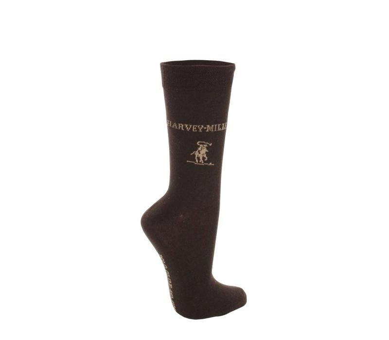 Harvey Miller Ponožky 3 PACK Brown