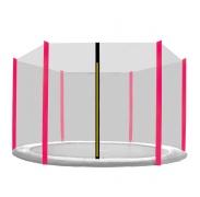 Aga Ochranná síť 180 cm na 6 tyčí Black net / Pink