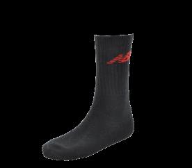 New Balance Tenisové ponožky 3-pack Black