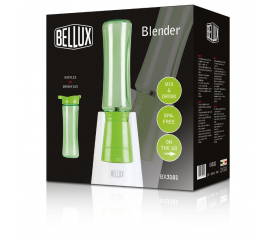 Smoothie mixér zelený s jednou láhví - BELLUX BX3101 - BELLUX