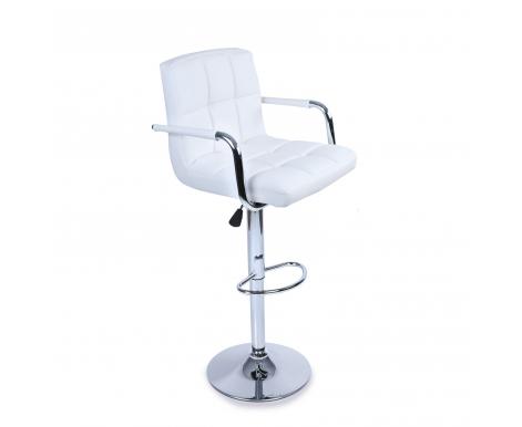 Tresko Barová židle s područkami  BH016 White