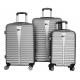 Aga Travel Set kufrů MC3078 S,M,L Silver