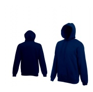 Fruit Of The Loom HOODED SWEAT Deep Navy pulóver